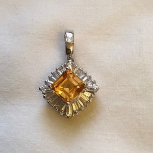 Butterscotch Citrine color Pendant